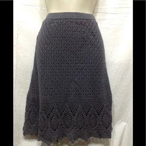 Women's size Large ATHLETA crochet skirt